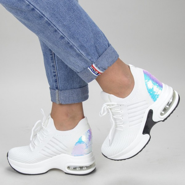 pantofi sport cu platforma sjn185 02 guncolor