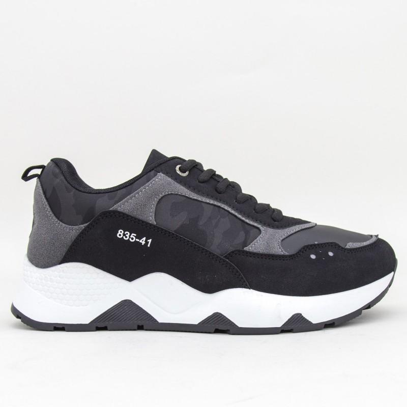 Pantofi Sport Barbati YKQ127 Black Mei