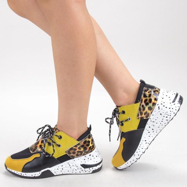 pantofi casual dama t7312 8  black