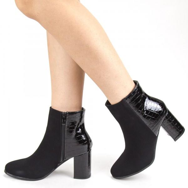 Pantofi Sport cu Platforma SJN208 Black Mei