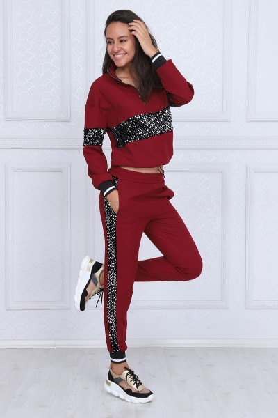 Pantaloni Dama CARO 5976 Gri Adrom