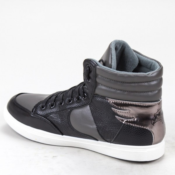 Pantofi cu Toc XKK150B Black Mei
