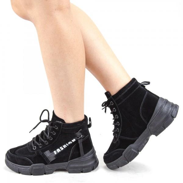 Pantofi Sport Barbati GB56 Black Mei