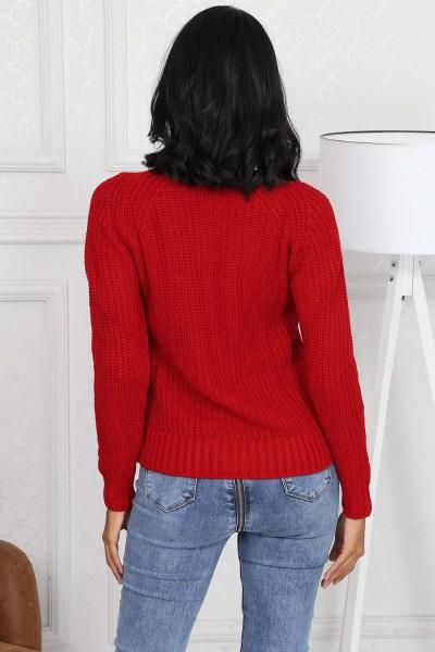 Tricou Dama 8019 PLAYOVER Rosu Adrom