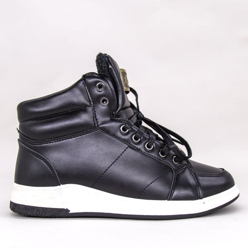 Ghete Barbati A16 GB Black Fashion