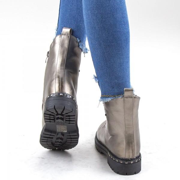 Pantaloni Dama 6976 Gri-Roz Adrom