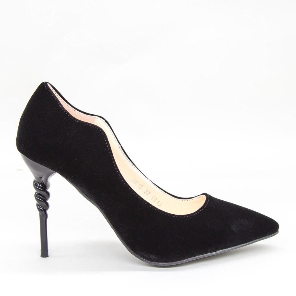 Pantofi cu Toc HY10 Black Mei