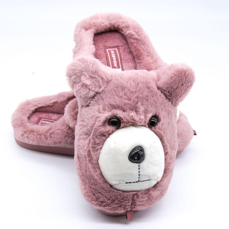 Papuci Dama de Casa MD0197 Pink Fashion