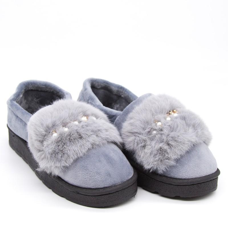 Papuci Dama de Casa FM8-2 Grey Fashion