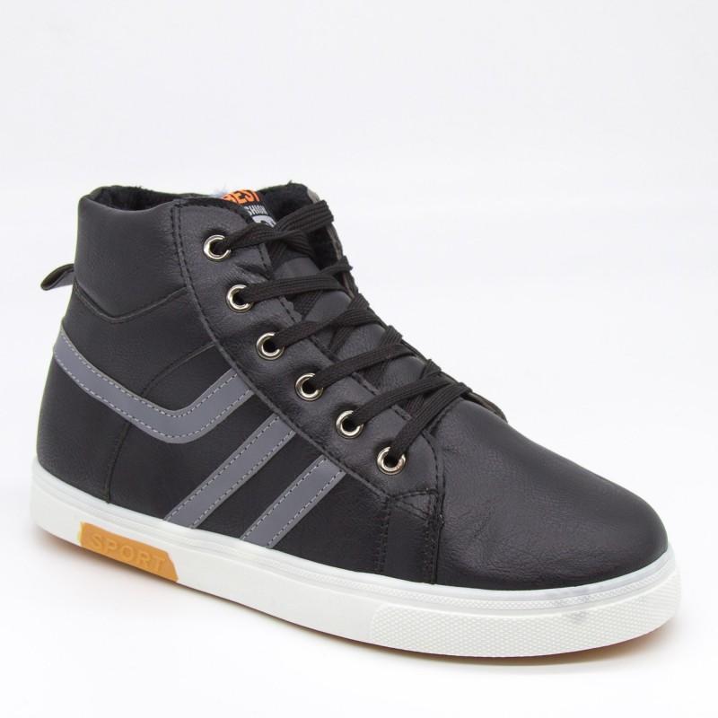 Ghete Barbati B075 Black Fashion