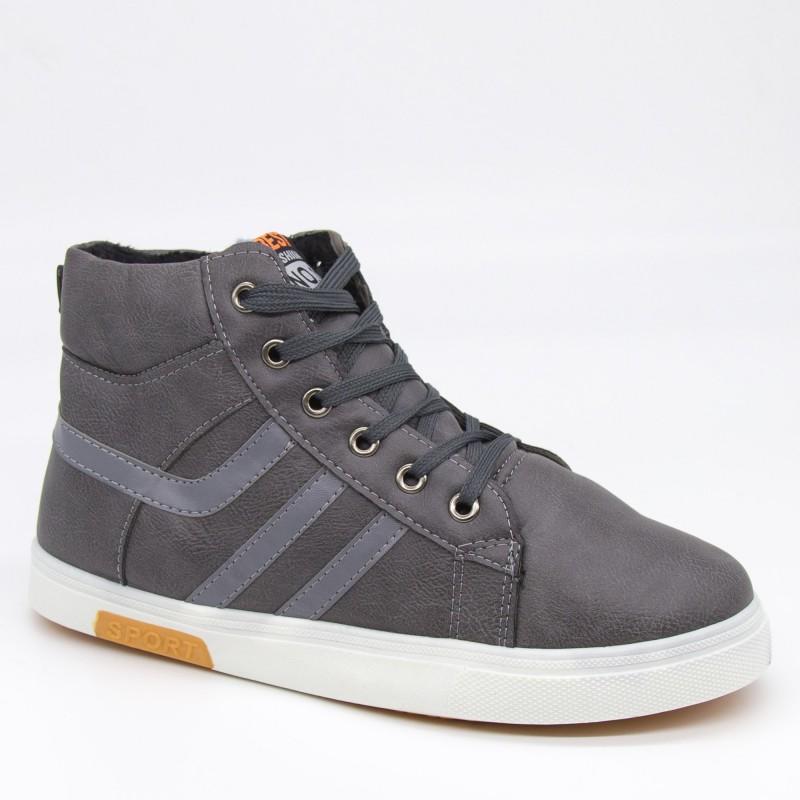 Ghete Barbati B075 Grey Fashion