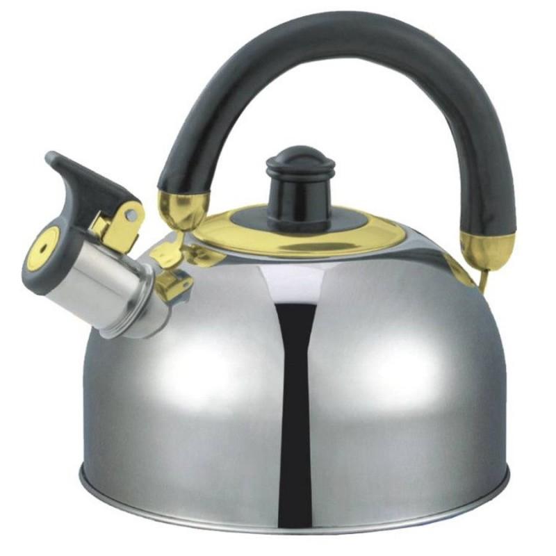 Ceainic inox cu fluier 2.5L 0474 ZLN-0474  Zilan