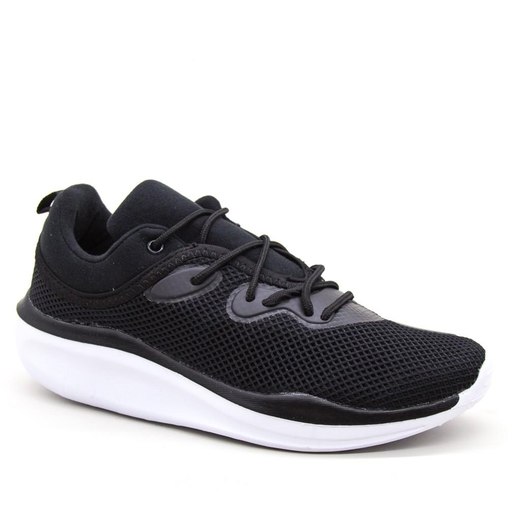 Pantofi Sport Barbati 0525 Black-white Mei