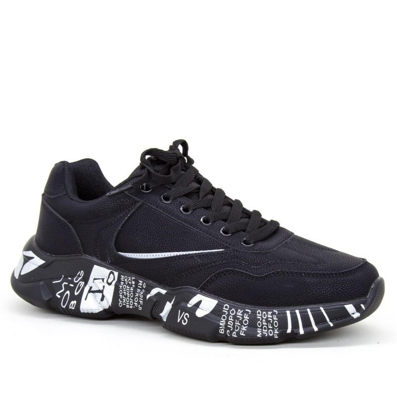 Pantofi Sport Barbati 9190 Black Sport Fashion