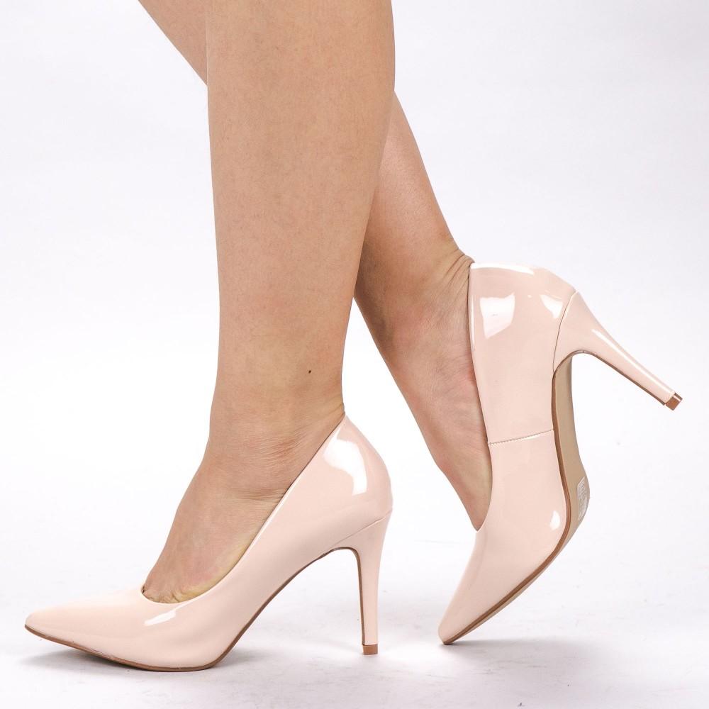 Pantofi cu Toc XKK250B Nude Mei
