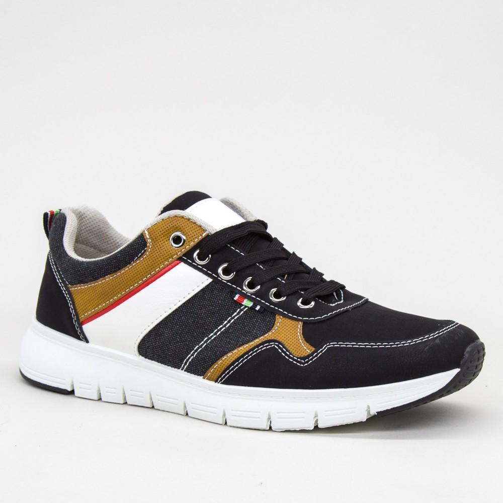 Pantofi Sport Barbati AN76 Black Mei