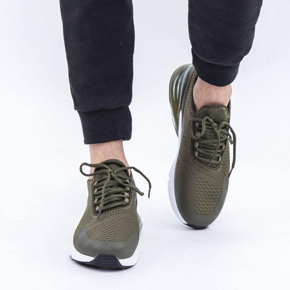 Pantofi Sport Barbati GB72 Olive (K02|H36) Mei