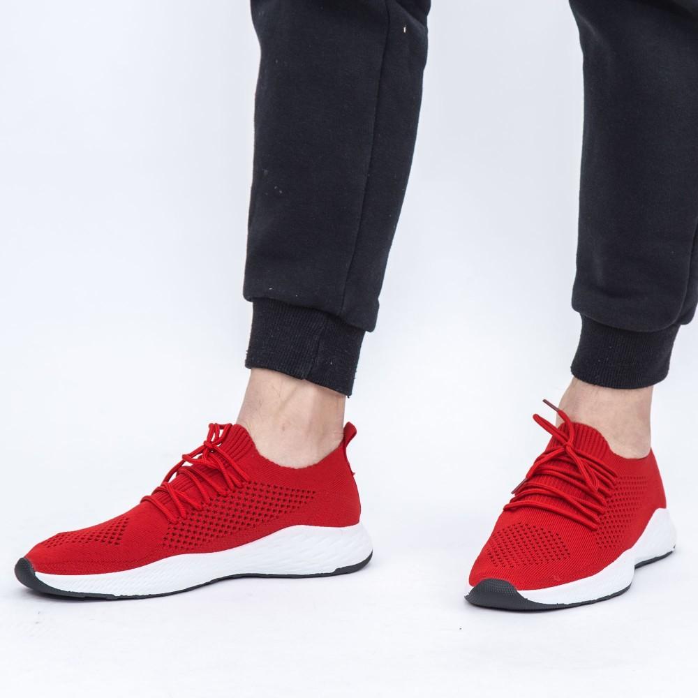 Pantofi Sport Barbati YKQ56 Red (K22) Mei