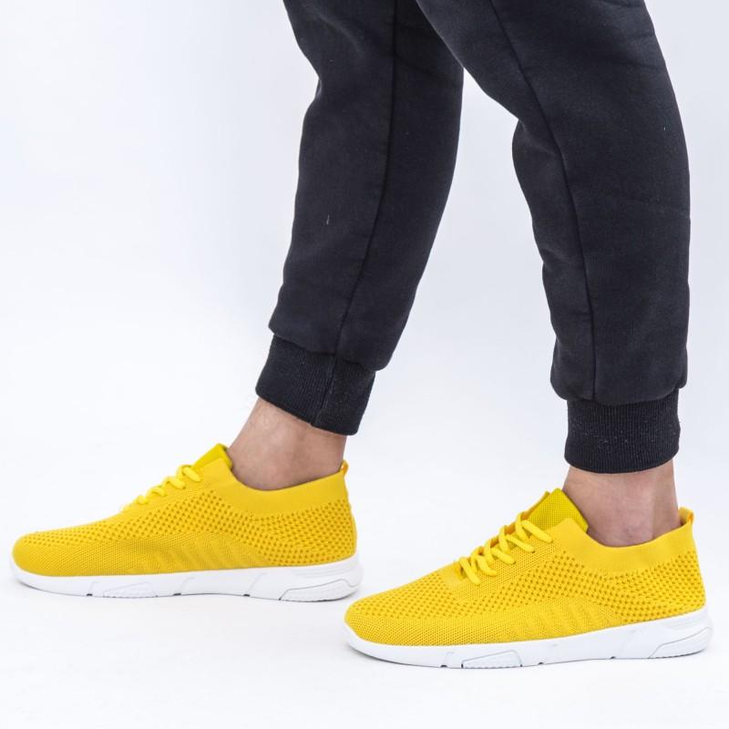 Pantofi Sport Barbati 0011 Yellow DCF68