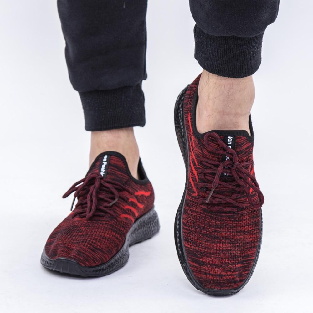 Pantofi Sport Barbati D3 Red-Black DCF68