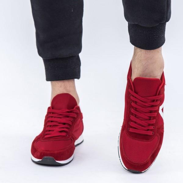 Pantofi Sport Barbati 6652 Bright Red DCF68