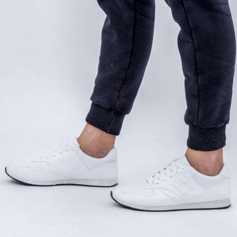 Pantofi Sport Barbati 6622 White DCF68