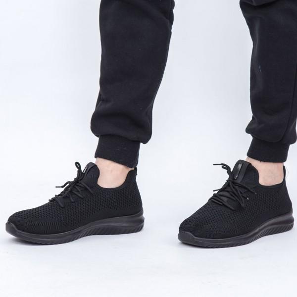 Pantofi Sport Barbati D702 Black Se7en