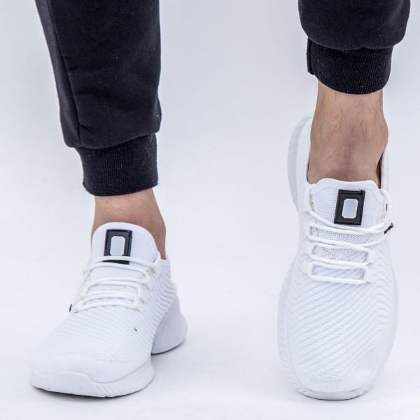 Pantofi Sport Barbati D753 White Se7en