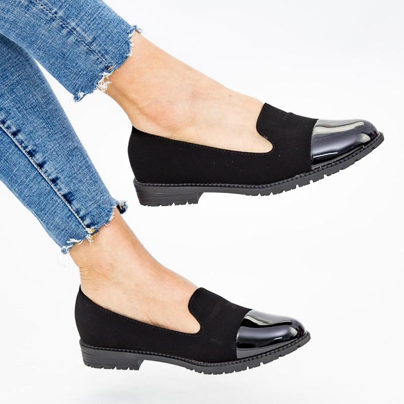 Pantofi Casual Dama YEH12 Black Mei