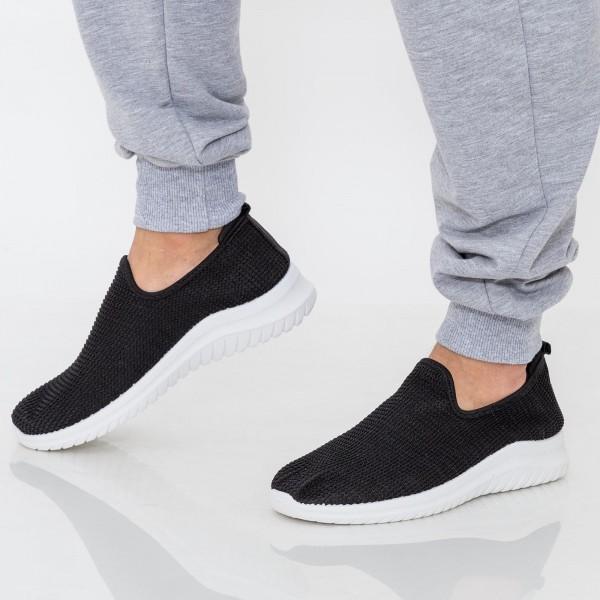 Pantofi Sport Barbati D795 Black Se7en