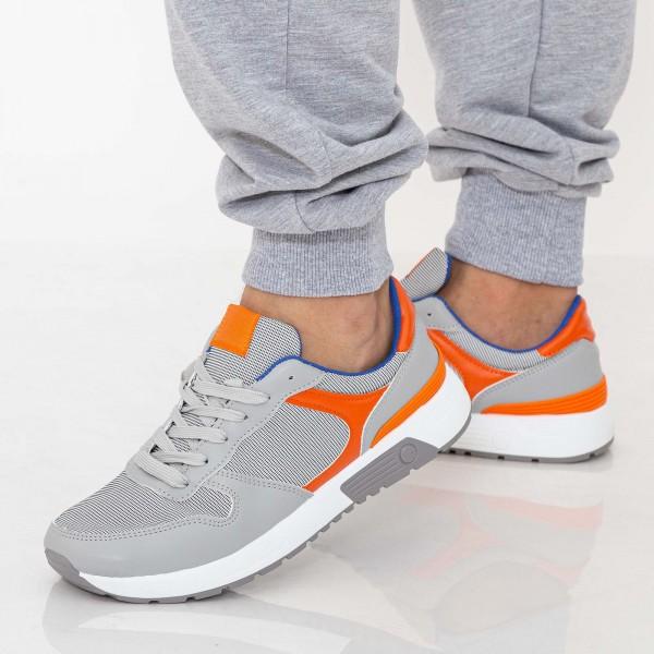 Pantofi Sport Barbati D771 Grey Se7en