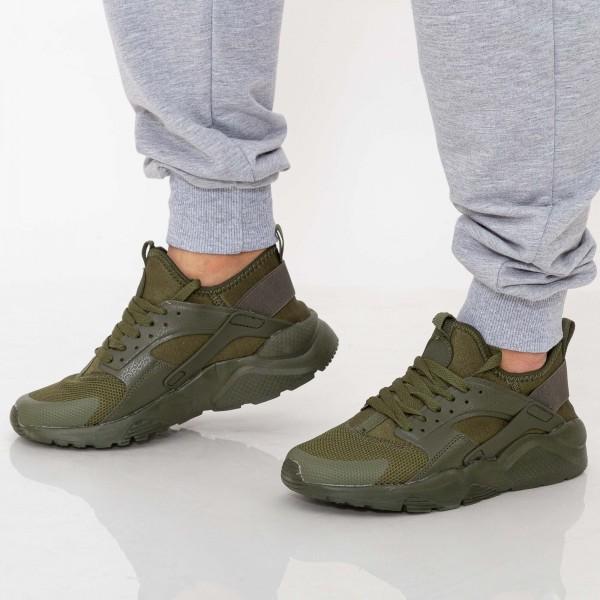 Pantofi Sport Barbati L-604 Green Se7en