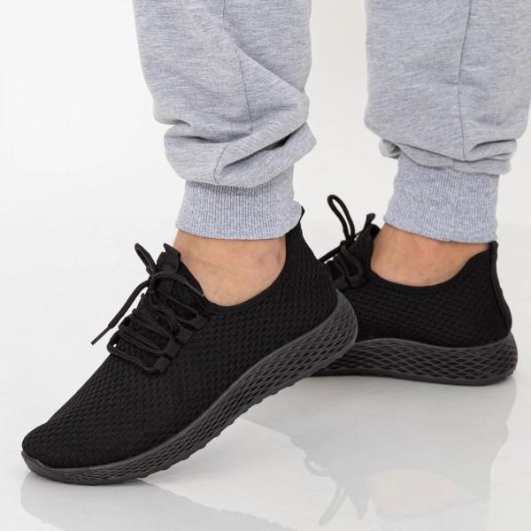 Pantofi Sport Barbati D800 Black Se7en