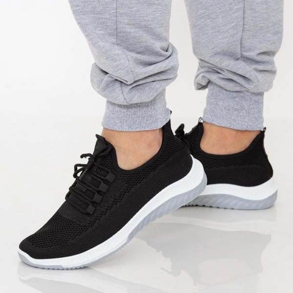 Pantofi Sport Barbati 23-3 PSB Black Se7en