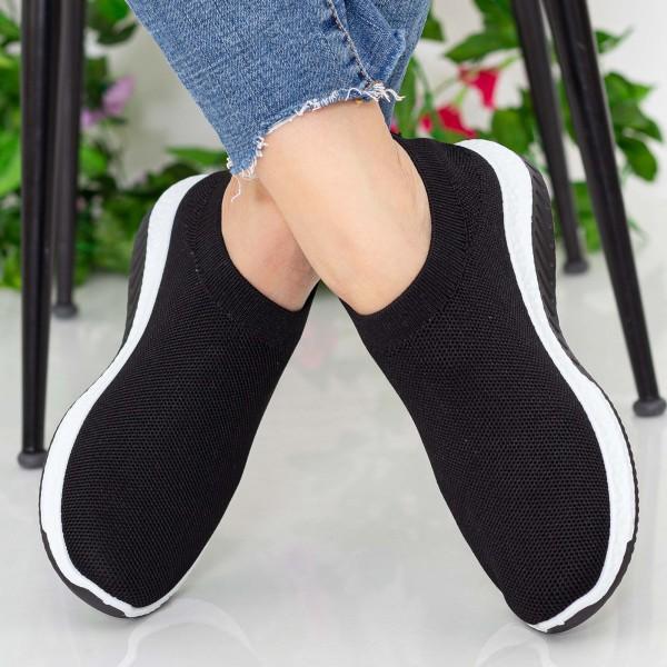 Pantofi Sport Dama 23-9 PSD Black Se7en