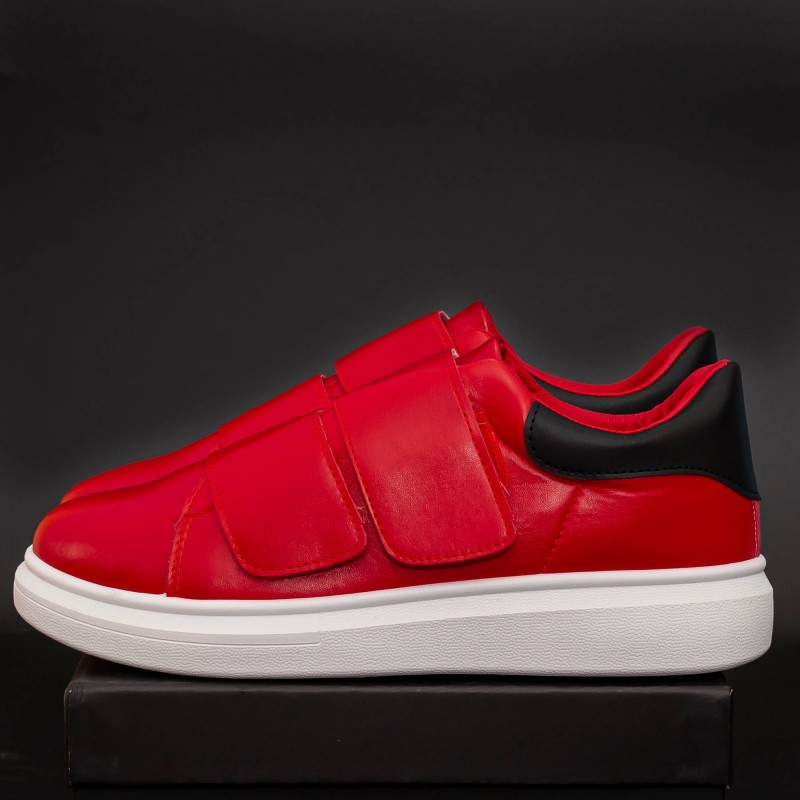 Pantofi Sport Barbati B83 Red-Black Mei