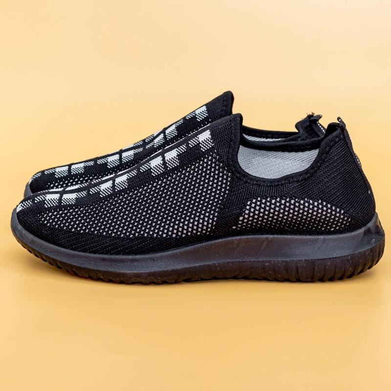Pantofi Sport Barbati D722 Black Mei