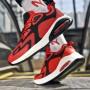 Pantofi Sport Barbati 0596 PSB Red-Black Mei