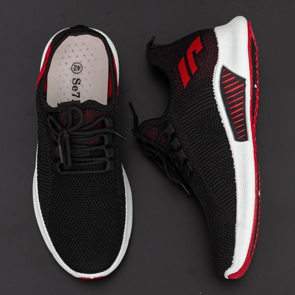 Pantofi Sport Barbati D798 Black Se7en