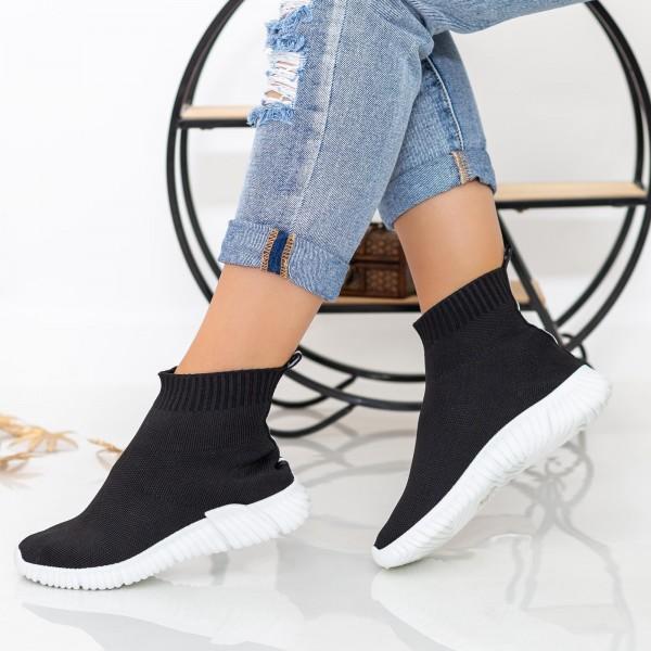 Pantofi Sport Dama XY30 Black-White Mei