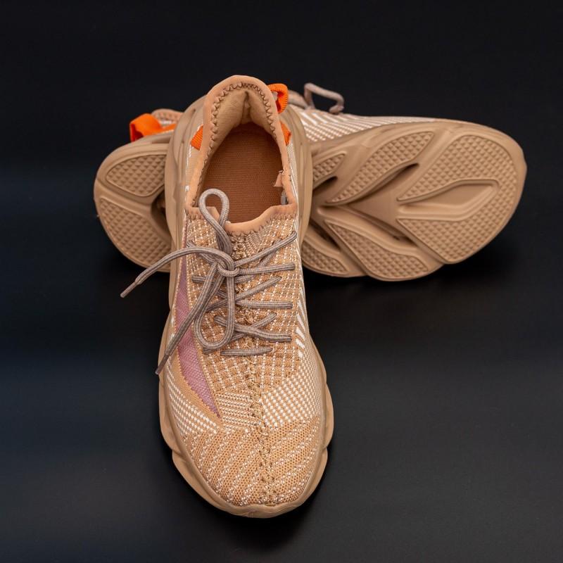 Pantofi Sport Barbati 0528 Camel Mei