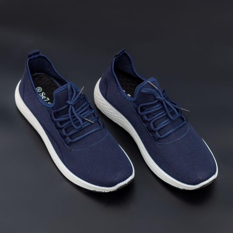Pantofi Sport Barbati D755 Navy Mei