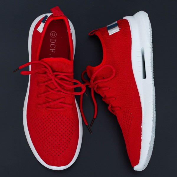 Pantofi Sport Barbati B08 Red Mei
