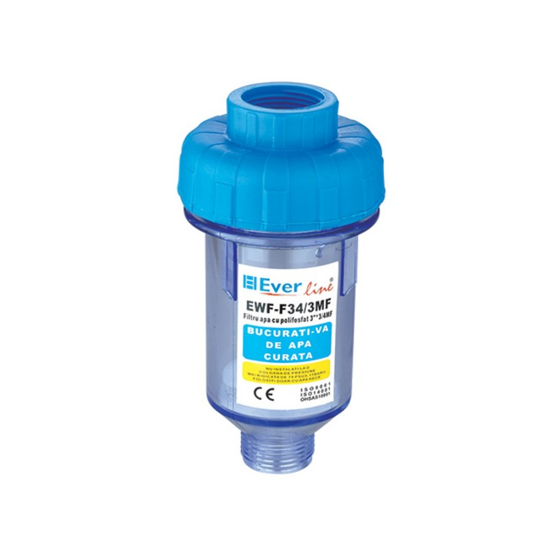 "Filtru apa cu polifosfat 3"" 3/4"" FI-FE EWF-F34/3MF (---) EverLine"