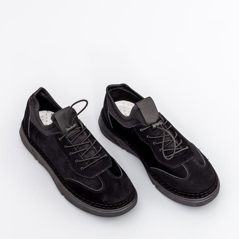 Pantofi Sport Barbati D776 Negru Se7en