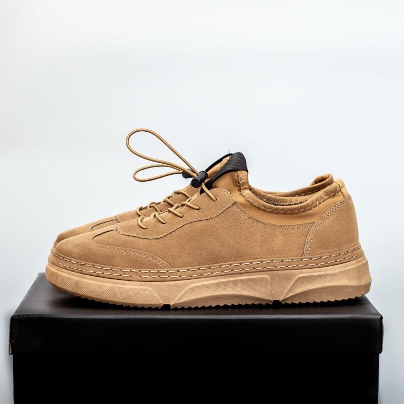 Pantofi Sport Barbati D776 Kaki Se7en