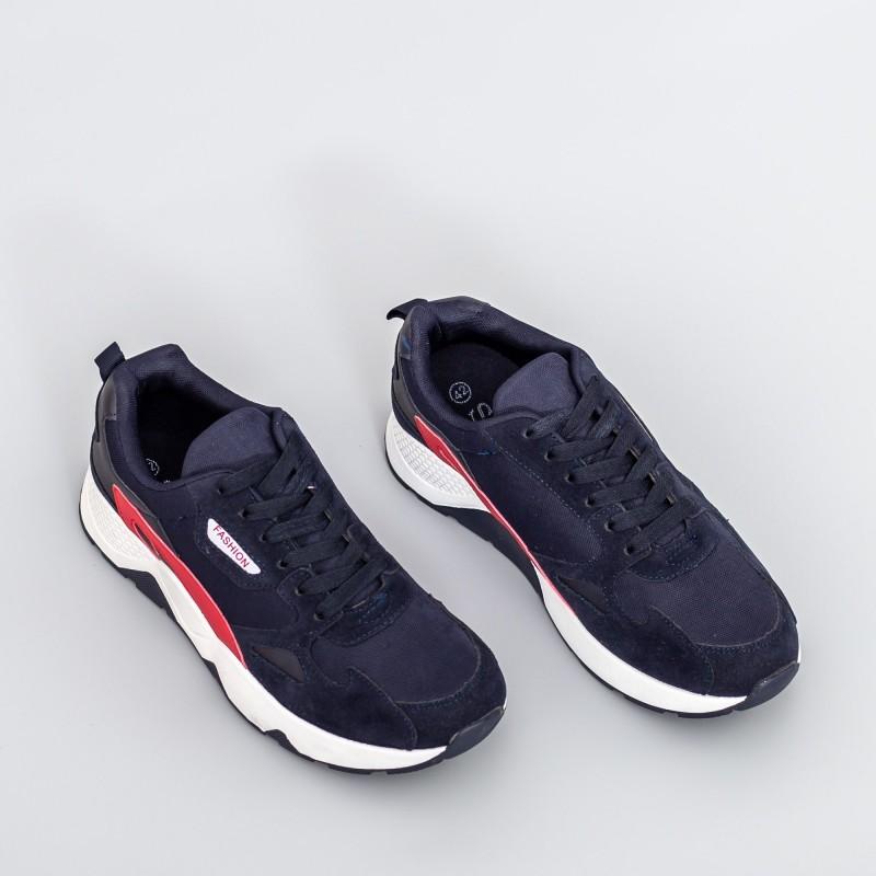 Pantofi Sport Barbati 23-26 Albastru inchis Se7en