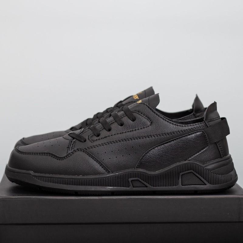 Pantofi Sport Barbati Y17-1 Negru Panter