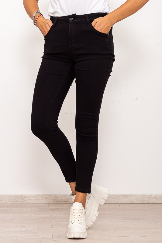 Blugi Dama K153 Negru Fashion