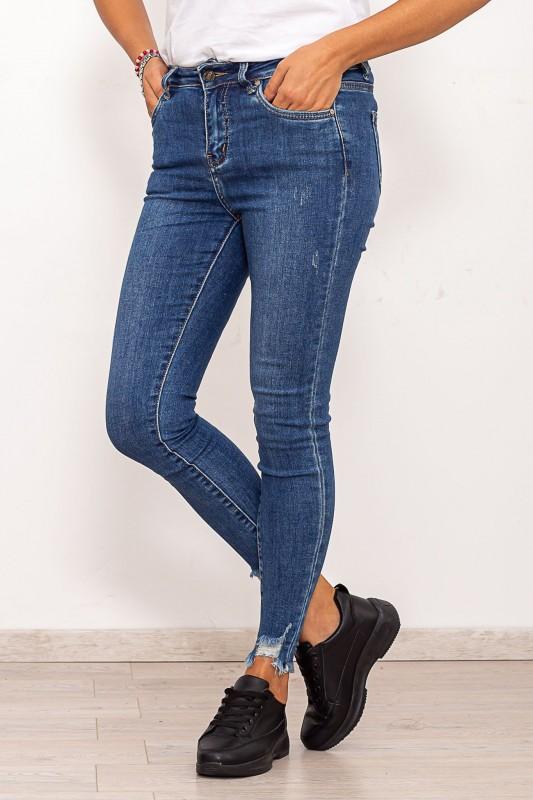 Blugi Dama SH1868 Albastru Fashion